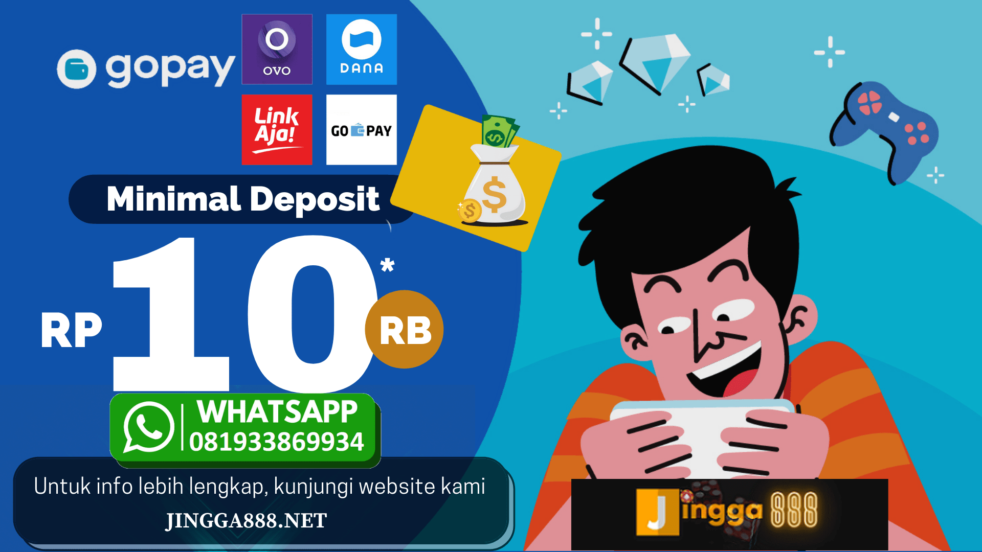 slot online deposit gopay