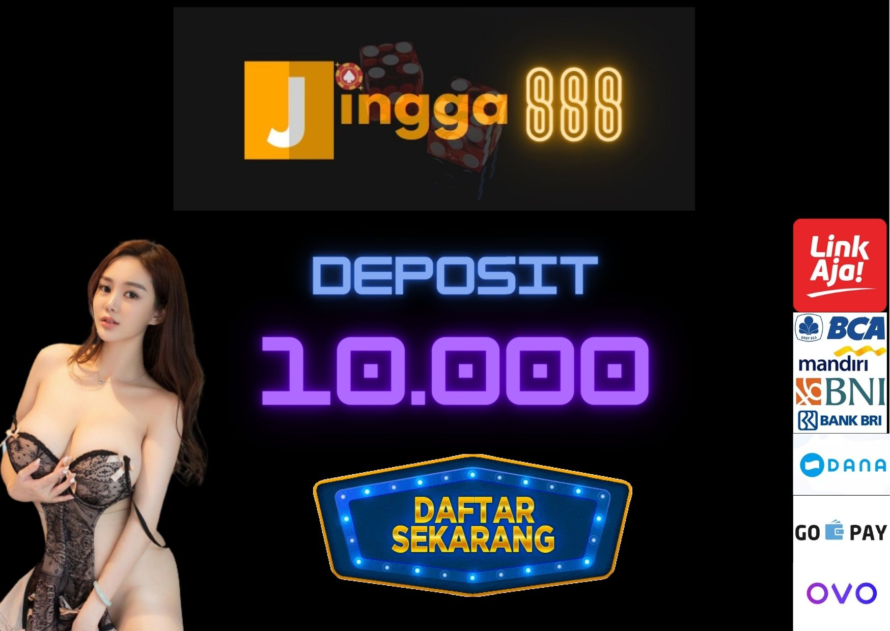 slot deposit 10.000